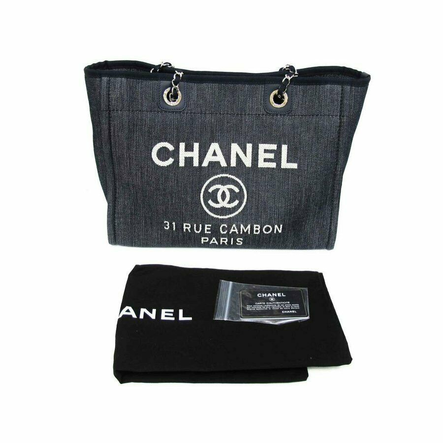29816462b272 CHANEL Deauville MM Tote Chain Shoulder Bag and 50 similar items. S l1600