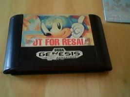 Sonic the Hedgehog - Not for Resale - NFR - Sega Genesis - Game cartridg... - $3.37