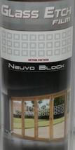 Illusions Inc GE4009 Etched FX Premium Glass Etch Neuvo Blocks image 2