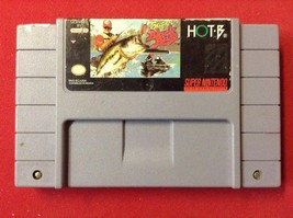 Super Black Bass (Super Nintendo Entertainment System, 1992) SNES Cartri... - $6.49