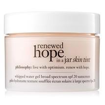 Philosophy Renewed Hope In A Jar Skin Tint Spf 20, 4.5 Nude, 1 Ounce - $41.77