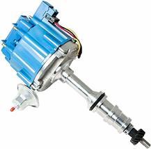 FORD FE 332 352 360 390 406 427 428 BLUE HEI Distributor + 8mm SPARK PLUG WIRES image 4