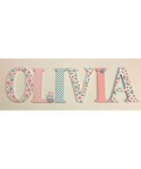 Wood Letters-Nursery Decor- Owl Themed -Price Per Letter-Custom made -Ma... - $12.50