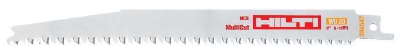 Hilti W-CSR WS 24 Reciprocating Pruning Blade for Wood - 284546 - Pack of 5 - $100.29