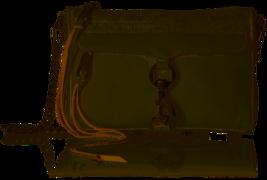 Rebecca Minkoff HU17EFCX01 Mini M.A.C. Crossbody Handbag Optic White - $89.09