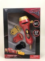 "Disney Cars 3 Projector Light Handle Held 24 Color Images Projects 36"" - $14.21"