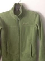 Columbia forest green jacket.. size medium (10/12) - $9.90