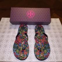 NIB Tory Burch Classic Flip-flop in Darling Floral Size 8 - $49.34