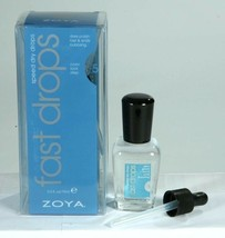 New ZOYA Fast Drops Speed Dry Drops 0.5oz Quickly Dries Nail Polish With... - $11.32