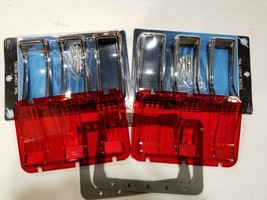 United Pacific F67801-2SETB Tail Light Lens/Bezel/Gasket Set 1968 Ford M... - $117.79