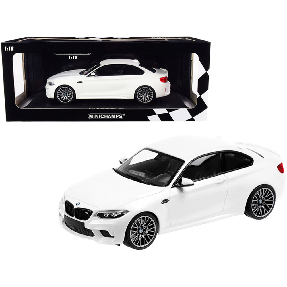 2019 BMW M2 Competition White Limited Edition To 504