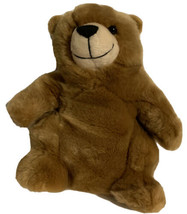 "Build A Bear Charmin Logo Plush Brown Bear 9"" Retired Super Soft Stuffed... - $21.99"