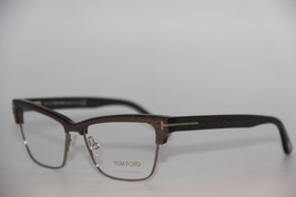 New Tom Ford Tf 5364 020 Brown Eyeglasses Authentic Rx TF5364 53-15 W/CASE - $117.42