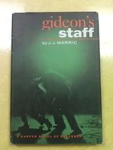 Gideon's Staff J.J. Marric Hardcover Book - $3.96