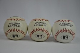 Rawlings OLB3 Official League Recreational Play Baseball Lot of 3 balls - $3.95