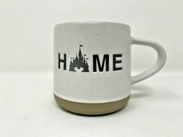 Disney Parks Fantasyland Cinderella Castle Home Coffee Mug Ceramic Cup Speckled - $32.17