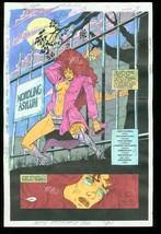 New Titans #105 Production Art Dc Color Guide - $357.69