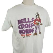 Vintage Dells Crossroads Fun Park T-Shirt XL Stedman Hi-Cru Single Stitc... - $27.89