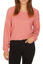 Sanctuary Sweater Thermal Top Salmon Pink Women Sz S NEW NWT - €18,62 EUR