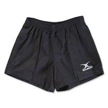 Gilbert Kiwi Pro Rugby Short - Black, Youth X-Large image 1