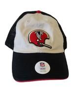 NFL Atlanta Falcons Cap Hap Canvas Mesh Snap Back Embordered Emblem Tan ... - $13.80