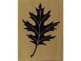 Vintage PSX Leaf Rubber Stamp #F-1143 image 1