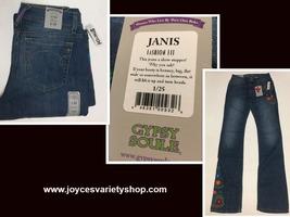 Women's Gypsy Soule Fashion Fit Blue Jeans Janis Stretch Sz 28, 30 Waist - $14.99