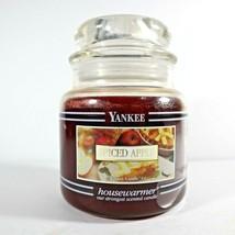 Yankee Candle Spiced Apple Black Band Housewarmer 14.5 Oz NEW - $21.99