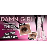 Too Faced Damn Girl! 24hr Mascara for Thick Curled Lashes Intense Black ... - $28.03