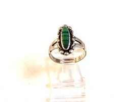 Native American Sterling Turquoise Ring Size 6 Bells Trading Post - $97.30