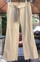 Ann Taylor Loft Petite Women's Cotton Size 0P Beige/Tan Pants Decorative... - $21.99