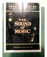 Vtg The Sound of Music Palace Theatre Programme Program Playbill Shaftes... - $39.59
