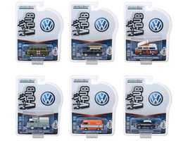 Greenlight Vee V-Dub Series 8 Set of 6 Cars 1/64 Diecast Model Cars  - $49.49