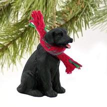 Labrador Retriever Miniature Dog Ornament - Black - $17.70