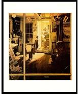 Norman Rockwell 1978 Occupational Art Print Shuffletons Barbershop Barbe... - $14.99
