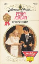 Lovers Touch (Harlequin Presents, No 1216) Penny Jordan