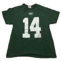 Nfl Team Apparel New York Jets Sam Darnold T Shirt Jersey #14 Men's Size... - $9.83
