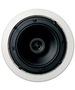 Jamo 6.5CS in Ceiling Surround Sound Home Theater Speaker, Pair, Round - $63.70