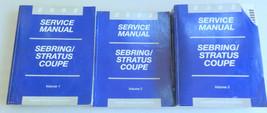 2002 Chrysler Sebring Stratus Coupe Service Repair Manual OEM Factory Sh... - $9.40
