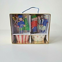 New Meri Meri The Nutcracker Ballet Cupcake Kit with 24 Liners & Toppers   - $20.27