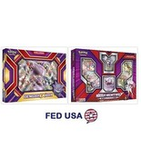 Mega Mewtwo Y Collection Box + Gengar EX Box, Pokemon TCG 2 Collection B... - $54.99