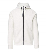 32 Degrees Heat Men's TechFleece Hoody, Heather White, XXL - $69.29