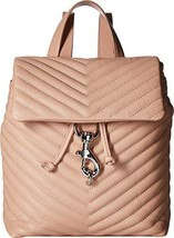 Rebecca Minkoff Women's Edie Flap Backpack Doe One Size - $200.51 CAD