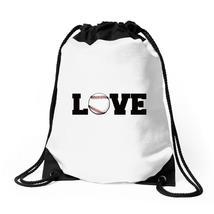 Love Baseball Drawstring Bags - $31.00