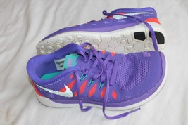 hot sale online 3515e 9a06e Nike Free 5.0 GS 644446 500 Purple Sneakers Shoes Youth Size 5Y EUR 37.5.