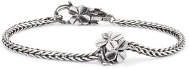 Trollbeads Silver LIMITED EDITION 40th Anniversary Lucky Friends Bracele... - $103.55