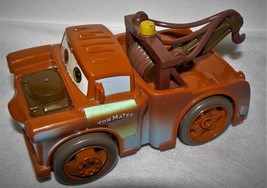 "DISNEY Pixar CARS 2005 Mattel Shake & Go Tow Mater Talking Sturdy Vehicle 5.5"" - $15.94"