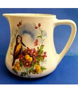 Lancaster Hanly England Vintage Creamer English Ware Bird Flowers Design - $24.95
