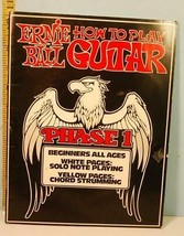 1983 Ernie Ball How to Play Guitar Phase 1 Book Beginners All Ages - $27.72