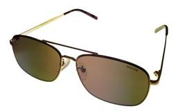 Kenneth Cole Reaction  Mens Sunglass Gold Metal Rectangle Aviator, KC1326  32E - $17.99
